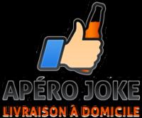 Logo Apéro Joke - Livraison de boissons, alcools et apéritifs à domicile
